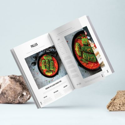 Magazine & Food Menu Design